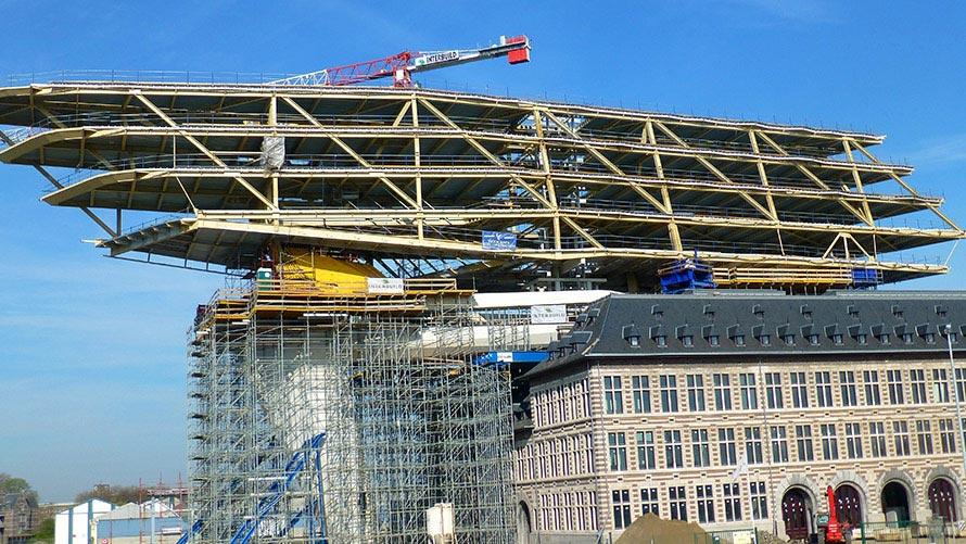 Het Havenhuis In Antwerpen Hp Staal