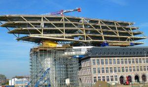 HP Staal Project Havenhuis Antwerpen Stalen balken HEB 1000