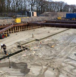 HP Staal Project den Haag Lange buizen balken