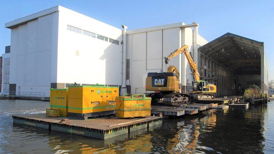 HP Staal Project Aalsmeer droogdok