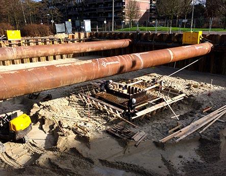 HP Staal Projekt Bauvorhaben Den Haag