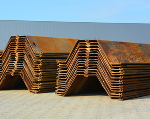 HP Staal Product Steel Sheet Piling