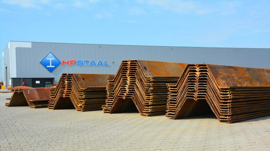 HP Staal range of steel sheet piling