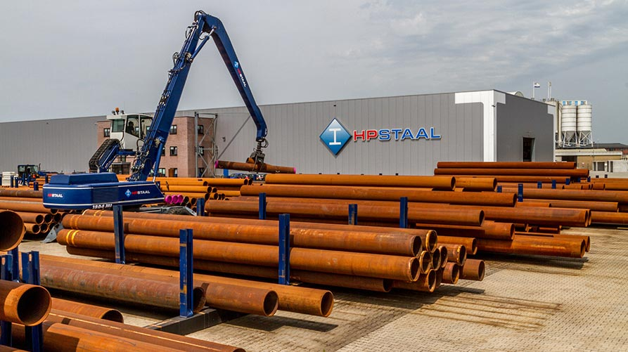 HP Staal Large amount Pipes