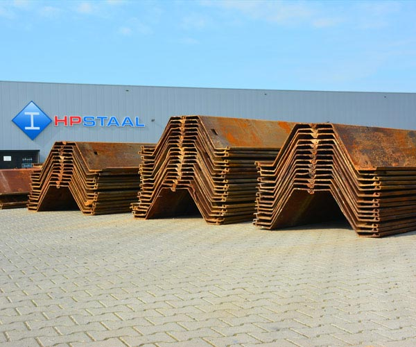 HP Staal steel sheet piling U-profile