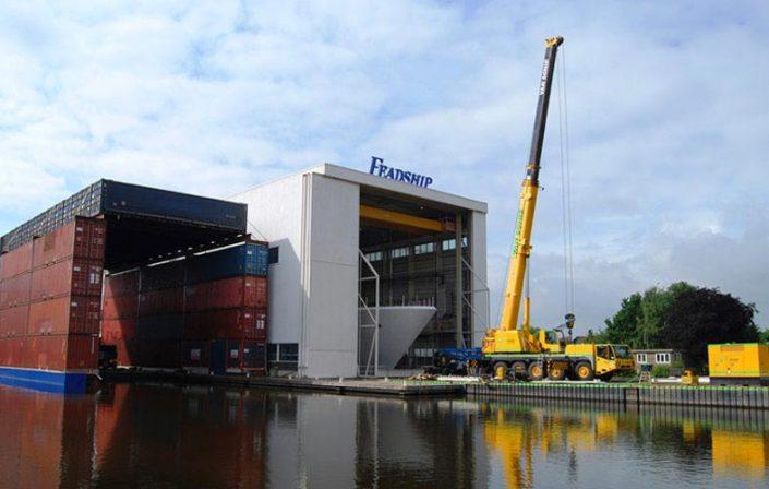 HP Staal Projekt Trockene Füße in Aalsmeer