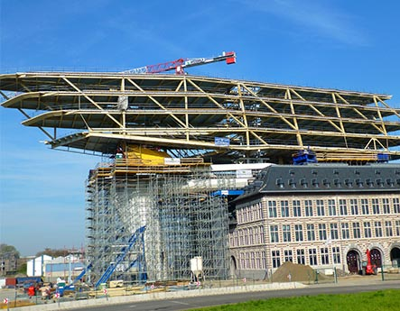 HP Staal Das Hafenhaus in Antwerpen